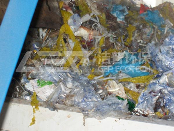 医疗垃圾撕碎机处置流程,医疗垃圾预处理生产线案例